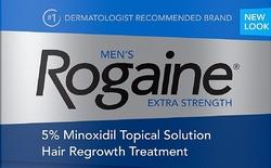 Новый дизайн миноксидил Rogaine