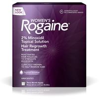 Лосьон Rogaine Регейн миноксидил 2%  для женщин упаковка 3 флакона
