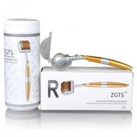 Мезороллер ZGTS Gold титановые иглы с позолотой
